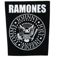 RAMONES Classic Seal バックパッチ