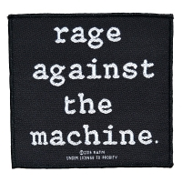 RAGE AGAINST THE MACHINE Logo Patch ワッペン
