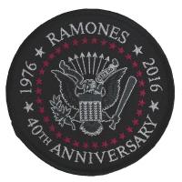 RAMONES 40th Anniversary Patch ワッペン