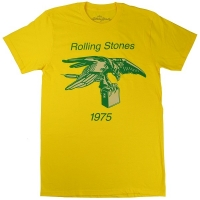 THE ROLLING STONES Eagle With Amp 1975 Tシャツ