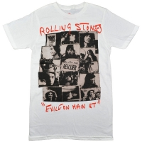 THE ROLLING STONES Rescue Collage Tシャツ