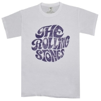 THE ROLLING STONES Vintage 70s Logo Tシャツ WHITE