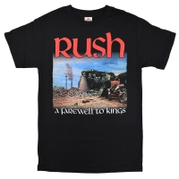 RUSH A Farewell To Kings Tシャツ