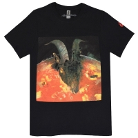 THE ROLLING STONES Goats Head Soup Tシャツ BLACK