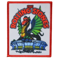 THE ROLLING STONES Dragon Tongue Patch ワッペン