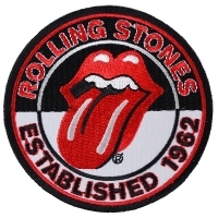 THE ROLLING STONES Est 1962 Patch ワッペン