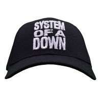 SYSTEM OF A DOWN Stacked Logo スナップバックキャップ