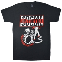 SOCIAL DISTORTION Ball And Chain Tour Tシャツ