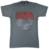 SOCIAL DISTORTION Prison Bound Tシャツ