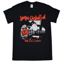 SOCIAL DISTORTION Mainliner Album Tシャツ