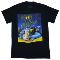 SNOOP DOGG Gin And Juice Cartoon Tシャツ