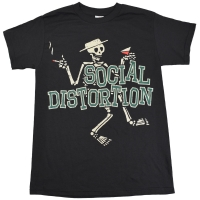 SOCIAL DISTORTION Letterman Tシャツ