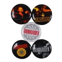 SOUNDGARDEN Badmotorfinger 5 Buttons Pack バッジセット