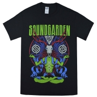 SOUNDGARDEN Antlers Meditation Alien Tシャツ