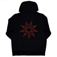 SLIPKNOT 9-Point Star ZIP フード パーカー