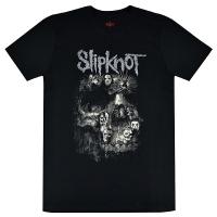 SLIPKNOT Skull Group Tシャツ