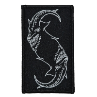 SLIPKNOT Goat Outline Patch ワッペン