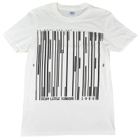 STIFF LITTLE FINGERS Barcode Tシャツ