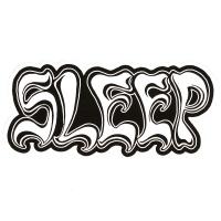 SLEEP Logo ステッカー