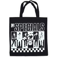THE SPECIALS BW トートバッグ