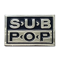 SUB POP RECORDS Logo ピンバッジ 2