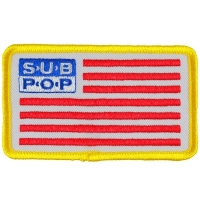SUB POP RECORDS Sub Pop Flag Patch ワッペン