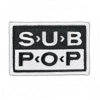 SUB POP RECORDS Logo Patch ワッペン