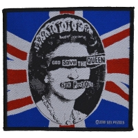 SEX PISTOLS God Save The Queen Patch ワッペン