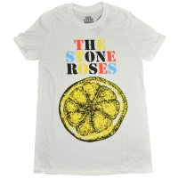 THE STONE ROSES Logo Lemon Multicolor Tシャツ
