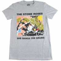 THE STONE ROSES She Bangs The Drums Tシャツ