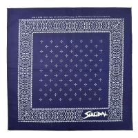 SUICIDAL TENDENCIES Cross バンダナ NAVY