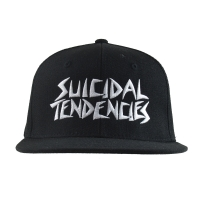 SUICIDAL TENDENCIES ST OG Embroidered スナップバックキャップ BLACK