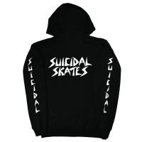SUICIDAL TENDENCIES Suicidal Skates ZIP フード パーカー