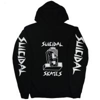 SUICIDAL TENDENCIES Suicidal Skates ZIP フード パーカー 2