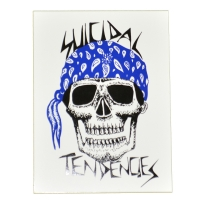 SUICIDAL TENDENCIES BANDANA SKULL ステッカー