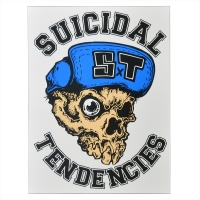 SUICIDAL TENDENCIES One Eyed Skull ステッカー