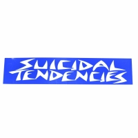 SUICIDAL TENDENCIES SUICIDAL BIG LOGO ステッカー BLUE