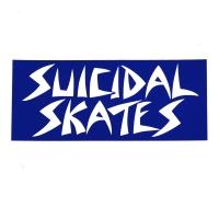 SUICIDAL TENDENCIES SUICIDAL SKATES LOGO ステッカー