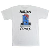 SUICIDAL TENDENCIES Suicidal Skates Cross Logo Color Tシャツ