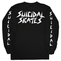 SUICIDAL TENDENCIES Suicidal Skates ロングスリーブ Tシャツ