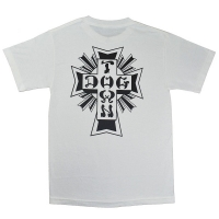 SUICIDAL TENDENCIES × DOGTOWN Logo Tシャツ 4 WHITE