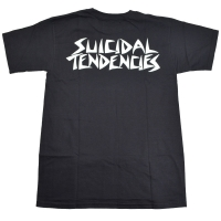 SUICIDAL TENDENCIES × DOGTOWN Tシャツ 1 LOGO BLACK