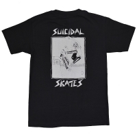 SUICIDAL TENDENCIES × DOGTOWN Pool Skater Tシャツ BLACK