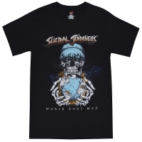 SUICIDAL TENDENCIES World Gone Mad Tシャツ BLACK