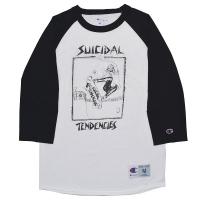 SUICIDAL TENDENCIES Lance Skater ラグラン ロングスリーブ Tシャツ