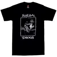 SUICIDAL TENDENCIES Skater Old School Tシャツ BLACK