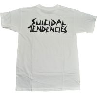 SUICIDAL TENDENCIES × DOGTOWN Tシャツ 1 LOGO WHITE