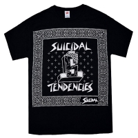 SUICIDAL TENDENCIES Brick Logo Bandana Tシャツ