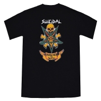 SUICIDAL TENDENCIES Possessed To Skate Tシャツ BLACK