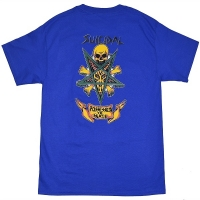 SUICIDAL TENDENCIES Possessed To Skate Tシャツ BLUE